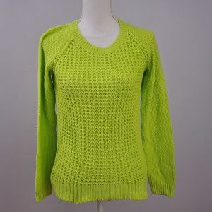Aeropostale Lime Green Sweater